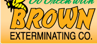 Brown Exterminating Co logo
